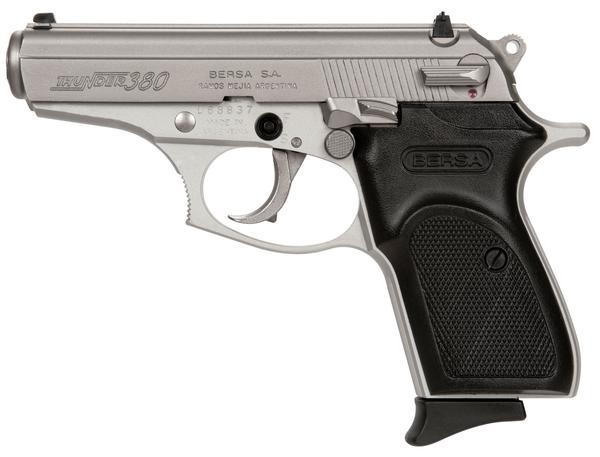 Bersa Thunder 380 ACP Nickel Lite Pistol 8 Round 3.5