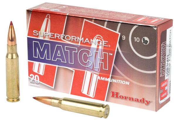 Hornady SUPERFORMANCE MATCH 308 Win 168 GR 20 RD