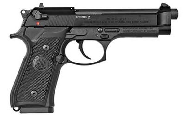 Beretta M9 22LR Single/Double 22 LR 5.3INCH 15+1 Black Rubber Grip