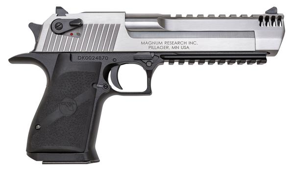 Magnum Research Desert Eagle Mark XIX Stainless Steel  50 AE 6