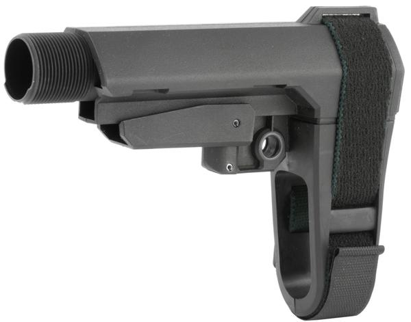 SB Tactical SBA3 AR Brace Black