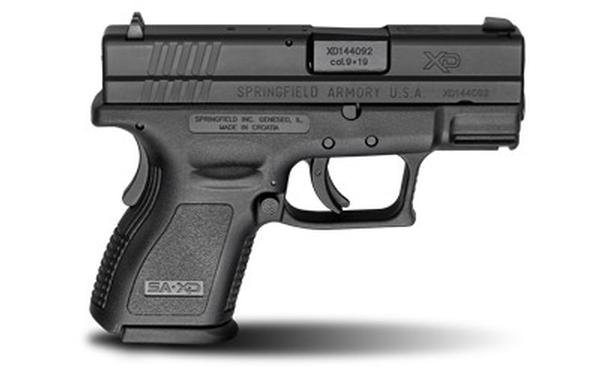Springfield Armory XD Sub-Compact 9mm 3