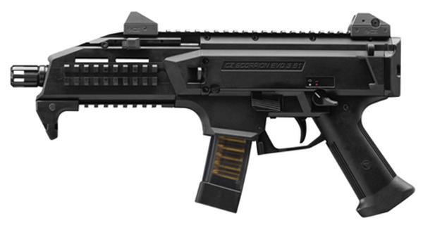 CZ Scorpion PISTOL EVO 3 S1 9mm 7.7