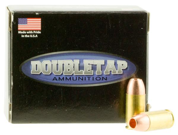 double tap 380 acp 80 gr hollow points 20 rd