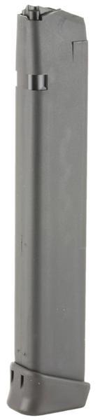 Glock 19 9mm 33 rd Black mag