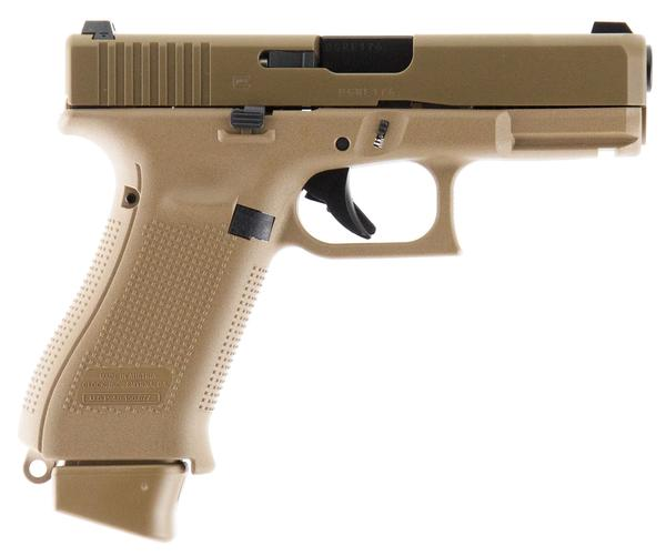 Glock 19X Crossover 9mm 17+1 Coyote