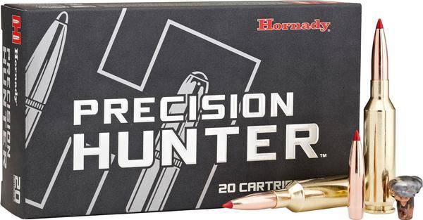 HORNADY PRECISION HUNTER 25-06REM 110GR ELD-X 20RD