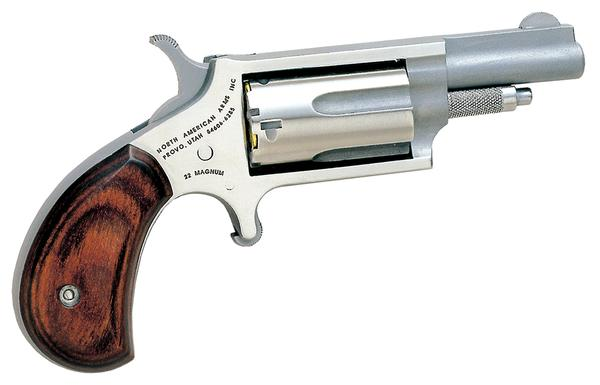 North American Arms Mini 22 Magnum Rosewood Grip 22 WMR 1.6