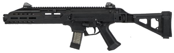 CZ Scorpion PISTOL EVO 3 S1 W/Flash Can 9mm 7.72