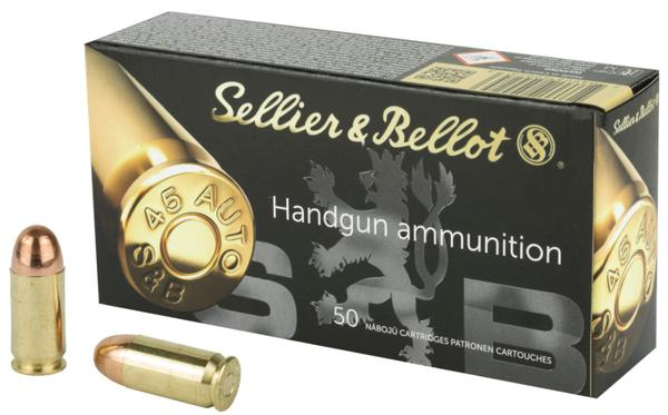 Sellier & Bellot 45 ACP 230 GR FMJ 50 rd