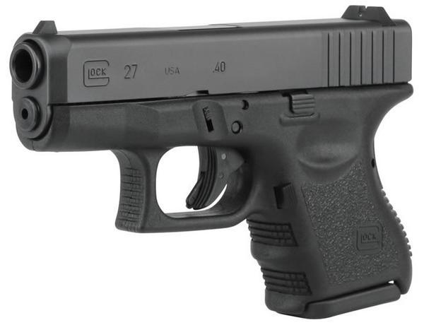 Glock G27 Subcompact 40 S&W 3.42