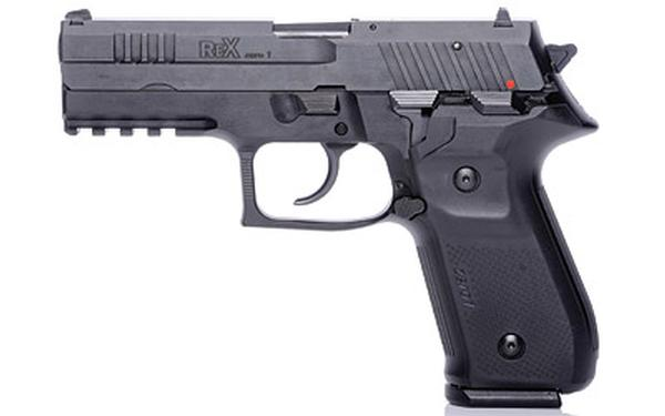 Arex Rex Zero 1 Standard Single/Double 9mm 17+1 Black