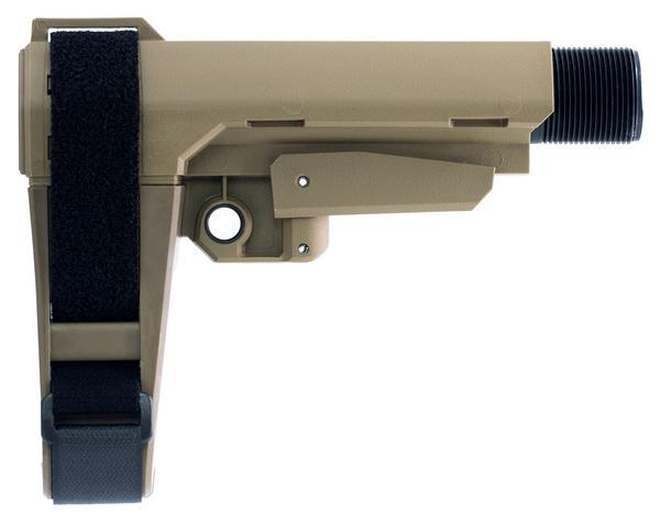 SB Tactical AR Brace SBA3 FDE