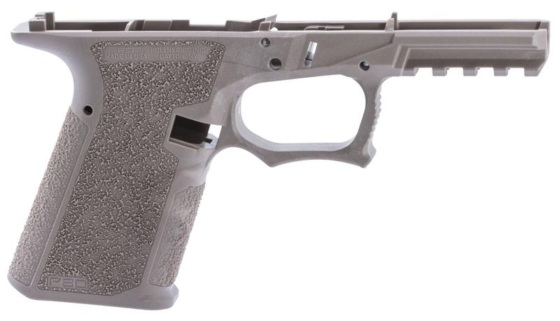 Polymer80 PFC9FDE G19/23 Gen3 Compatible 80% Pistol Frame Polymer