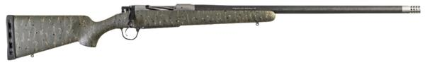 Christensen Arms Ridgeline 7mm Rem Mag Green With Black and Tan Webbing