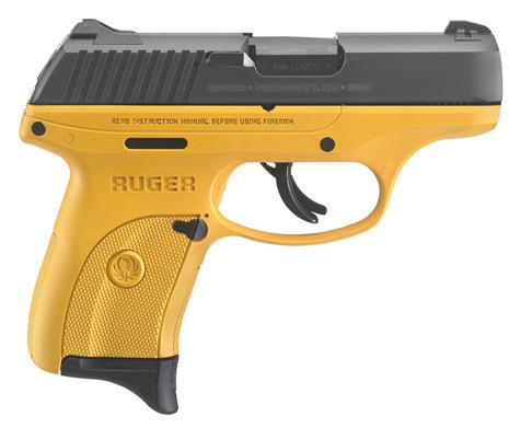 RUGER LC9S YELLOW 9MM 3.12