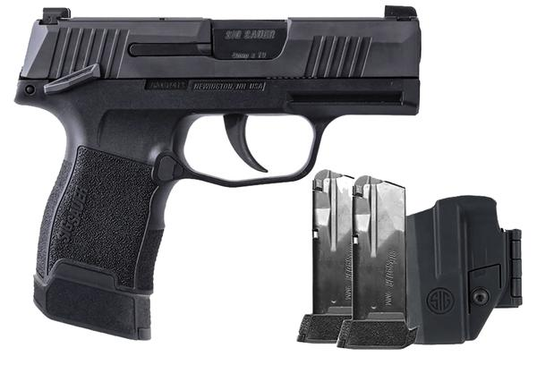 Sig Sauer P365 9mm TacPac Manual Safety Three 12-Round Mags