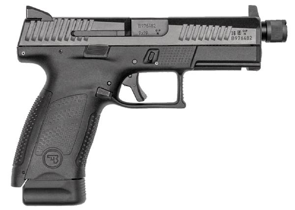 CZ P-10 C 9mm 17+1 Suppressor Ready