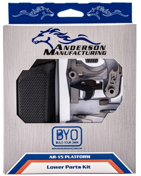 Anderson AR-15 .223/5.56 Lower Parts Kit Stainless Steel Hammer And Trigger