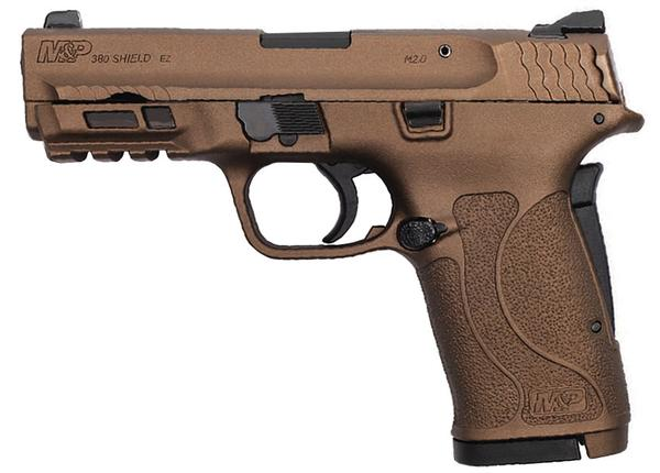 SMITH & WESSON M&P 380 SHIELD EZ BURNT BRONZE