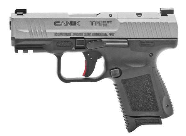 Canik TP9 Elite Sub-Compact 9mm Black Tungsten Gray