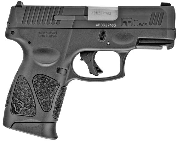 Taurus G3c 12rd 9MM black