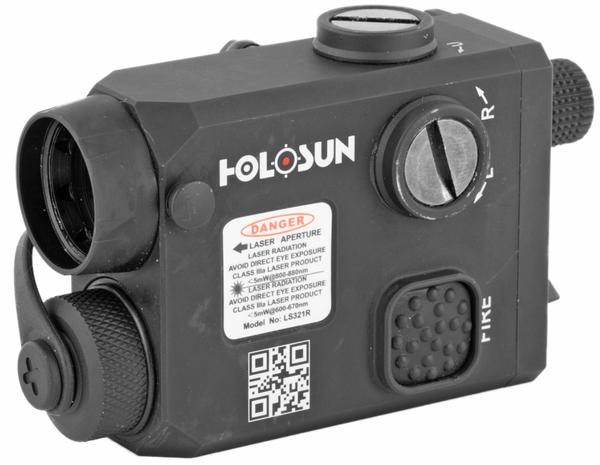 Holosun LS321G-IR Compact red Laser and IR Illuminator