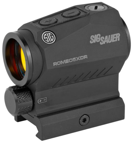 Sig Sauer Romeo5XDR 1x 65 MOA Circle/2 MOA Red Dot