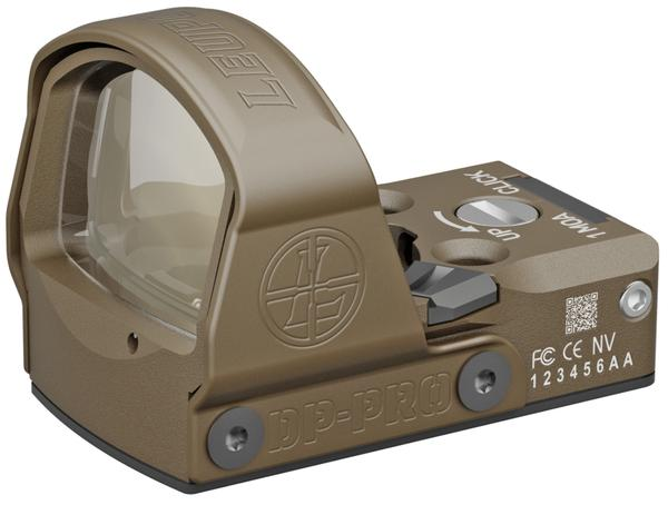 Leupold DeltaPoint Pro Night Vision 1x 2.5 MOA Red Dot FDE