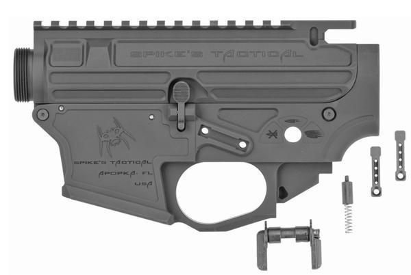 Spikes Tactical Upper/Lower Set Gen2 billet 9mm glock mag