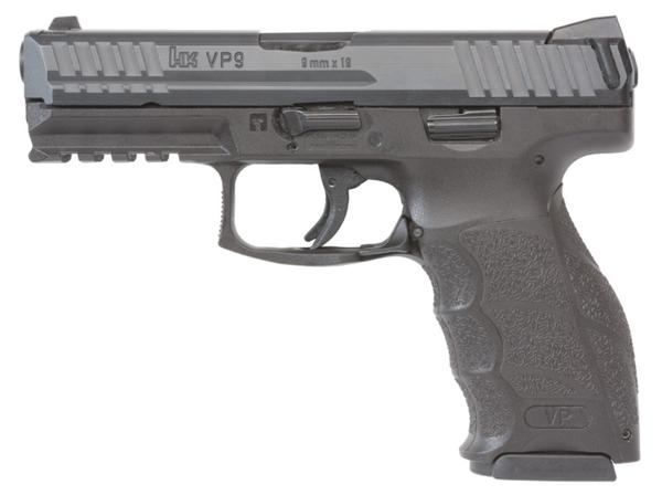 HK VP9 9mm (3) 17+1 Night Sights