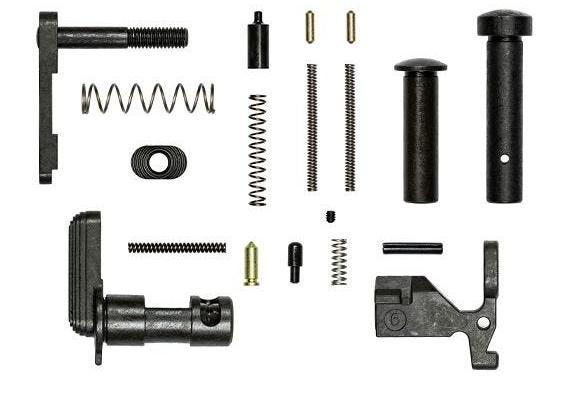 Aero Precision ar15 Lower Parts Kit no Fire Control Group, Pistol Grip or Trigger Guard