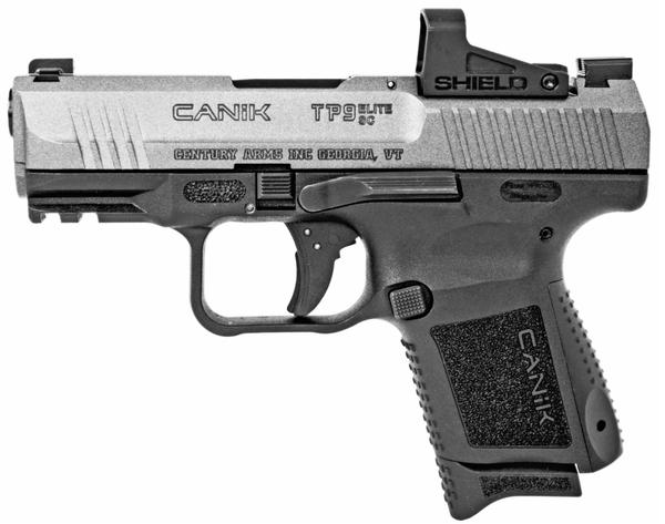 Canik TP9 Elite SC 9mm w/Shield SMS2 Red Dot Optic