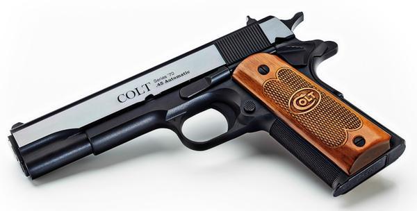 Colt 1911 TALO USA Royal Blue 45 ACP