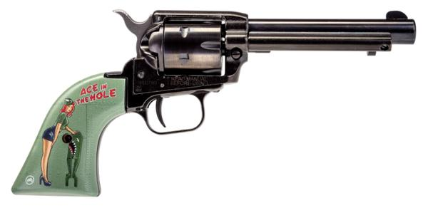 HERITAGE ROUGH RIDER 22LR ACE IN THE HOLE PIN UP