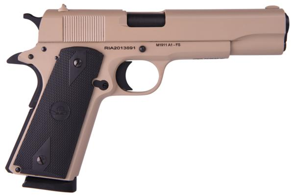 Rock Island gi standard fs single 45 acp FDE