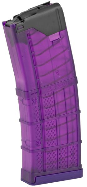 lancer l5awm 5.56 nato translucent purple