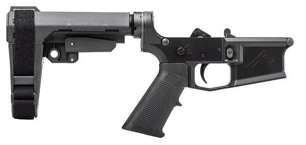 aero precision m4e1 complete pistol lower sba3 brace