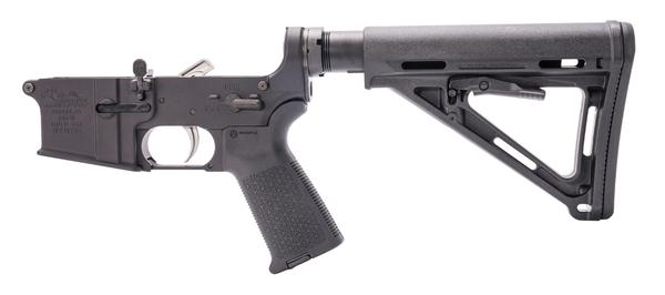 ANDERSON MANUFACTURING AM-15 COMPLETE LOWER BLACK MAGPUL
