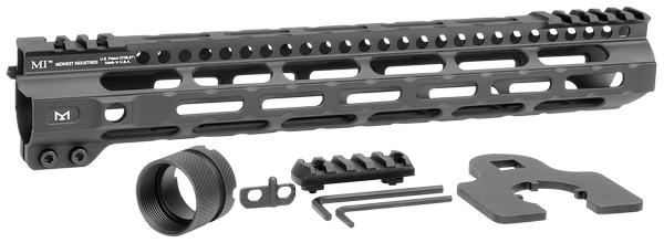 Midwest Industries Combat Lightweight AR-15 Black 12.625