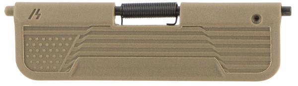 Strike Ultimate Dust Cover Flag AR-15 FDE Polymer