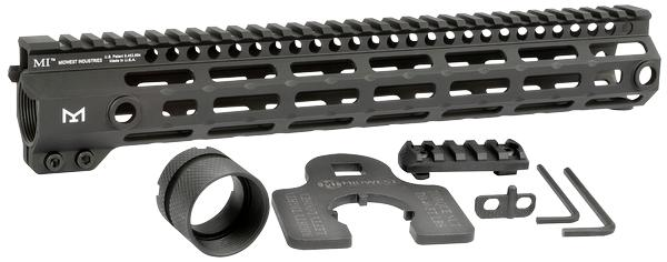 Midwest Industries Tactical G4M Handguard AR-15 Black 12.6