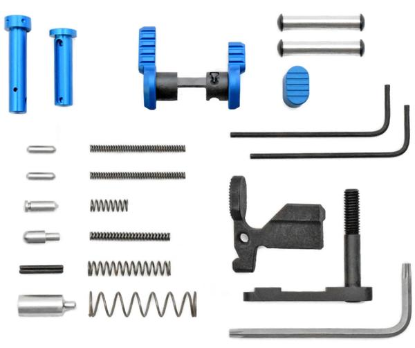 Armaspec AR-15 Superlight Gun Builders Kit BLUE