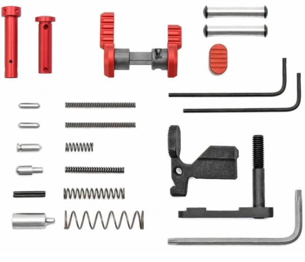 Armaspec AR-15 Superlight Gun Builders Kit RED