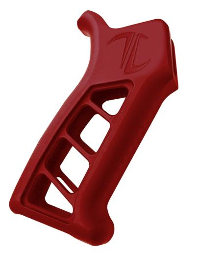 TIMBER CREEK Enforcer AR Pistol Grip RED ANODIZED