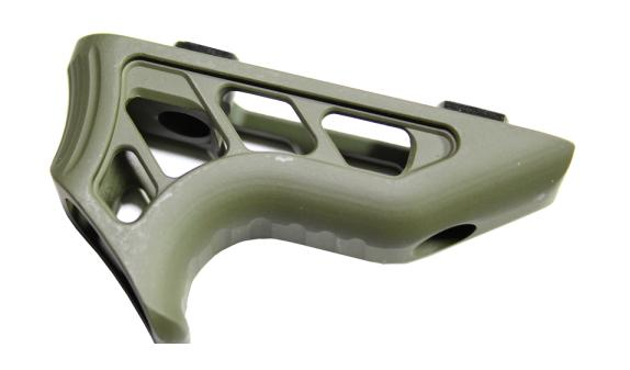 TIMBER CREEK ENFORCER MINI ANGLED FOREGRIP OD GREEN CERAKOTE