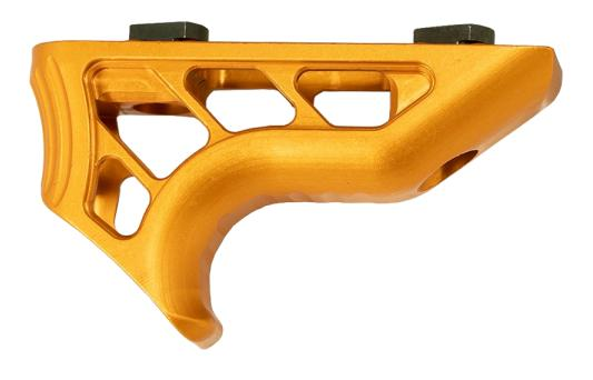 TIMBER CREEK ENFORCER MINI ANGLED FOREGRIP ORANGE ANODIZED