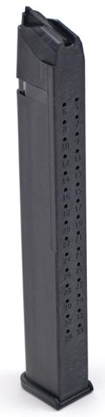 toolman tactical glock 9mm mag 35rd black
