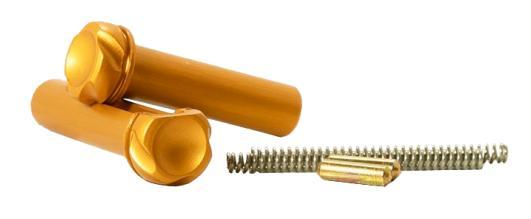 Timber Creek AR-15 Takedown Pin Set ORANGE Anodized