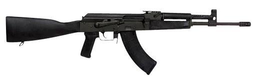 Century arms VSKA 7.62x39mm Black Phosphate Receiver Polymer Stock
